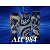 обложка BIG VASE GZHEL (in assortment) (AI-084)  41см от интернет-магазина Книгамир